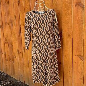 Boden Knit Sweater Tunic Dress